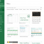 Office 365 Excel – Der Einstieg – Das Excel Dateimenü