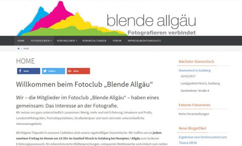 Blende Allgäu Screenshot