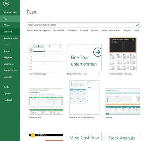 Dateimenü-Neu